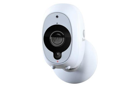 [Like New] Swann SWWHD-INTCAM Indoor / Outdoor Wire-Free Full HD Night-Vision Security Camera - White
