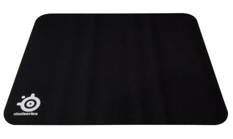 SteelSeries Qck 63004 Mouse Pad - Cloth - Rubber Base - Black