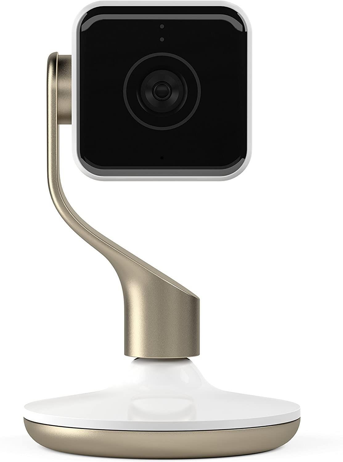 Hive View Indoor Wireless Full HD Night-Vision Security Camera - White    Champagne Gold