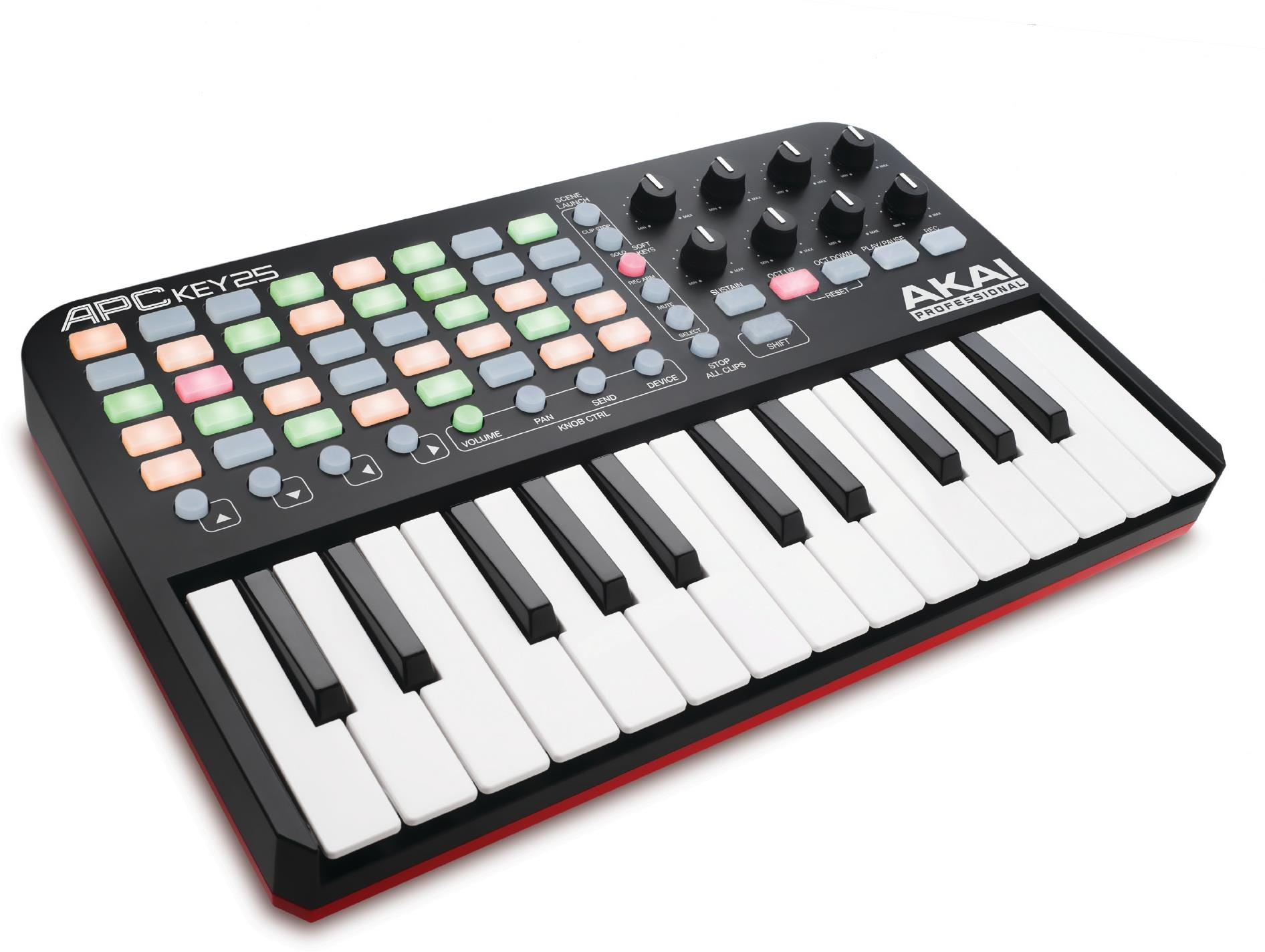 Akai Ableton Live Controller with Keyboard APC Key 25