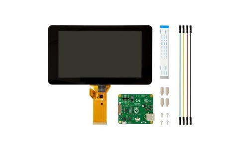 "Raspberry Pi Official 7"" Touchscreen Display - Black"