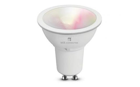 4lite WiZ Connect Multicolour WiFi LED Smart Bulb - GU10