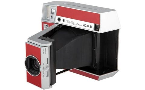 [Used] Lomography Instant Square Glass Pigalle Camera - Red