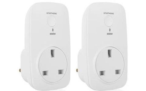 Smartwares Smarthome Pro Smart Power Sockets Pack of 2 - White