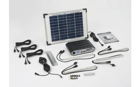 SolarMate Solar Hub 64 / 10w / 4 Strips / Cables