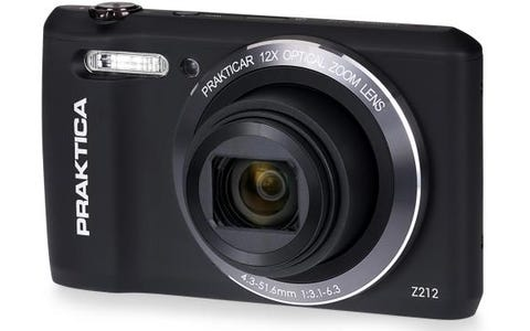 [Like New] PRAKTICA Luxmedia Z212 20MP 12x Zoom Compact Camera - Black