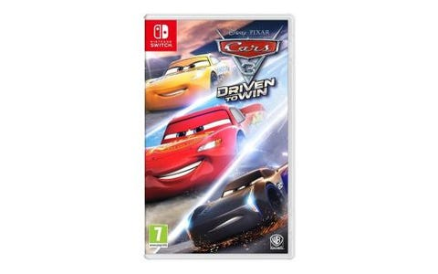 Nintendo Switch Cars 3 Driven to Win Game