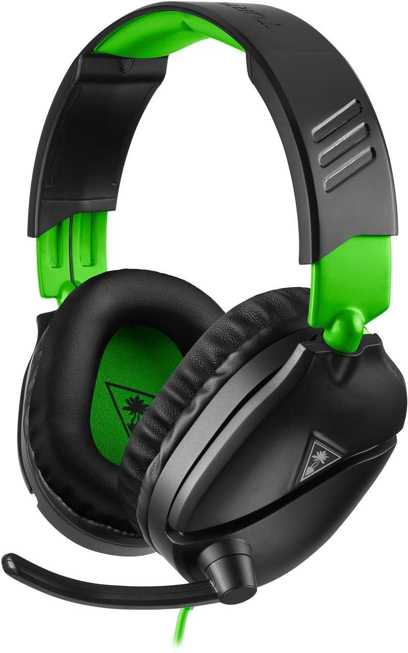 Turtle Beach Recon 70X Xbox One Gaming Headset - Black    Green