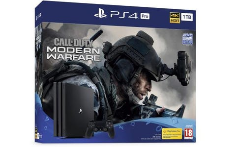 Sony PlayStation 4 Call of Duty Modern Warfare Pro 1TB 4K Console Bundle