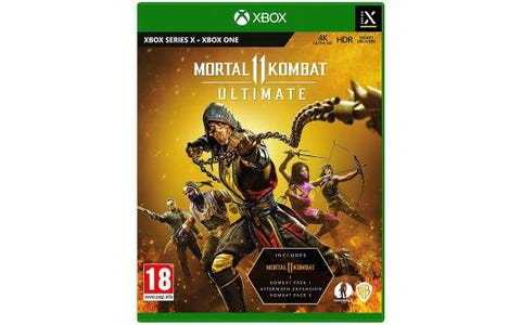 Microsoft Xbox Series X Mortal Kombat 11 Ultimate Game