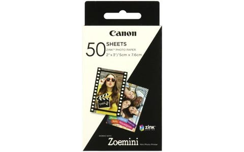 Canon Zoemini Zink Photo Paper 50 Sheet Pack