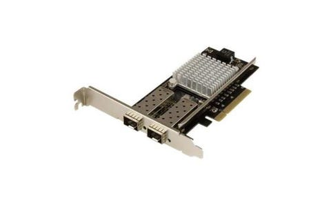 Startech 2-Port 10G Fiber Network Card with Open SFP+, PCIe & Intel Chip