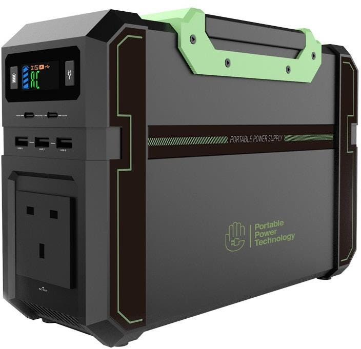 Portable Power Technology All-in-one Li-Po Powerpack 450+ AC/DC Power