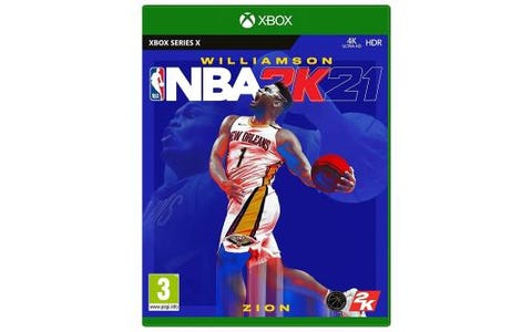 Microsoft Xbox Series X NBA 2K21 Game