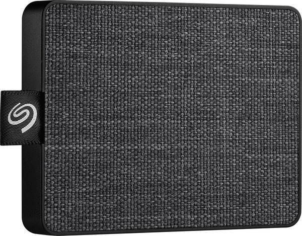 Seagate One Touch Portable 1 TB External SSD - Black