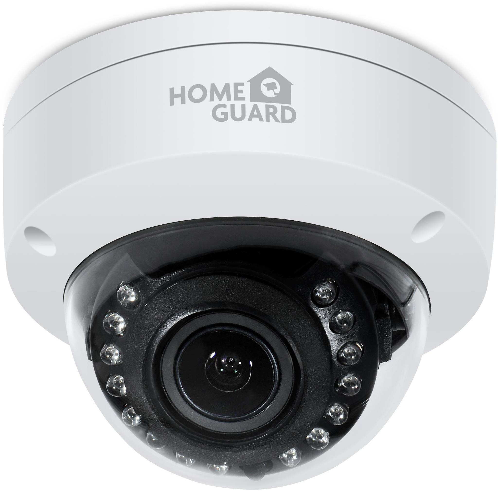 HomeGuard HGPRO829 Indoor / Outdoor Wired Full HD Night-Vision Security Camera - White