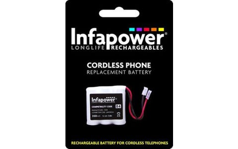 InfaPower Cordless Telephone Rechargeable Ni-MH 2/3 AAA Batteries - Pack of 3
