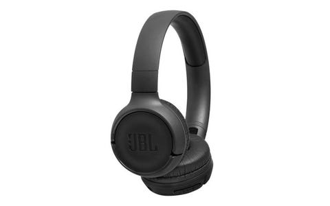 JBL T500BT On-Ear Wireless Headphones - Black