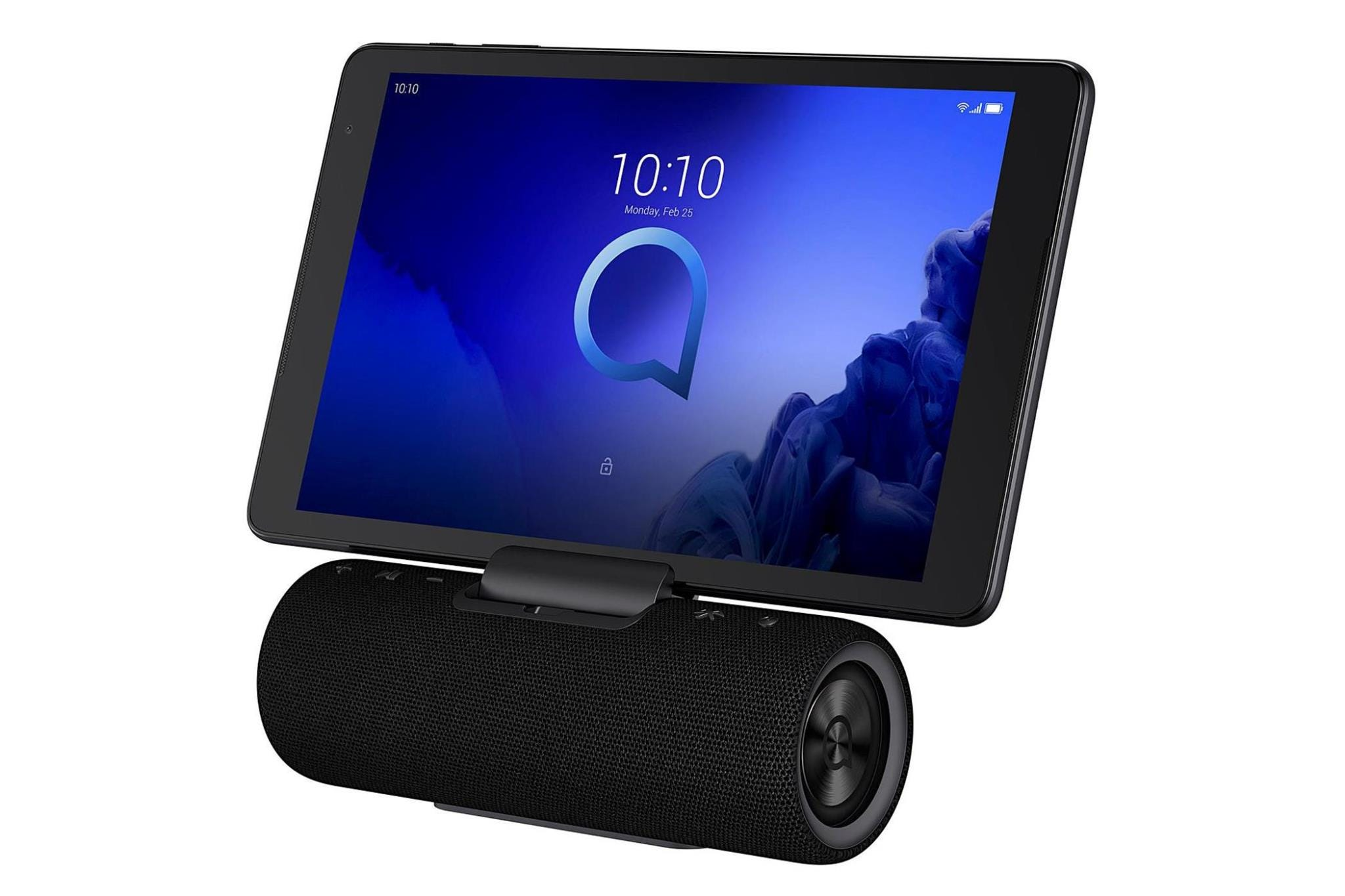 """Alcatel 3T10 10"""" Tablet with Audio Station - 16GB, Black"""
