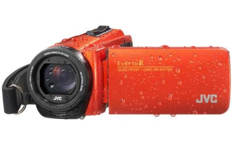JVC GZ-R495 4GB Memory HD Quad Proof Camcorder - Orange