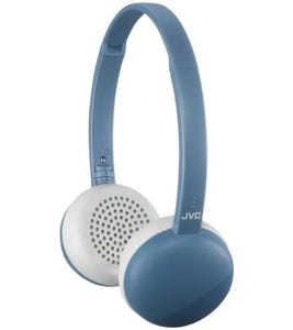 JVC HA-S20BT On Ear Headphones Wireless Flats Bluetooth - Blue