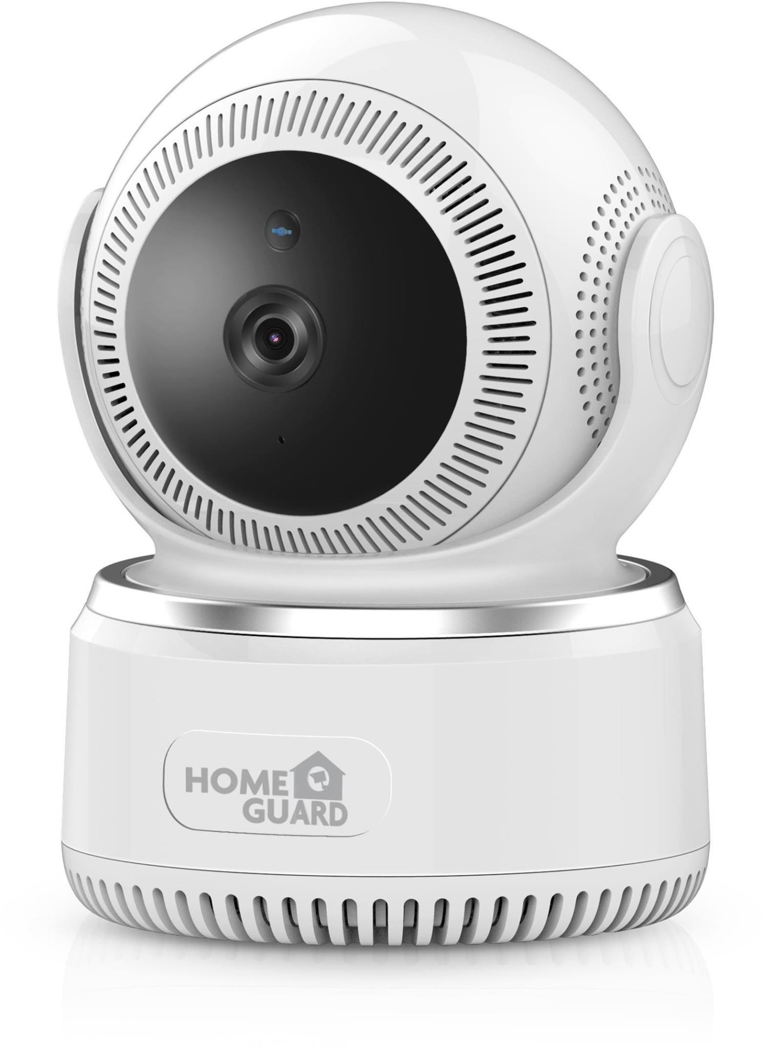 HomeGuard HGWIP-812 Pan    Tilt Indoor Wireless Full HD Night-Vision Security Camera - White
