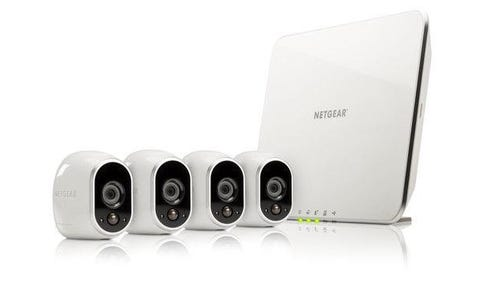 Arlo VMS3430 Video Server 4 x CCTV Camera Bundle