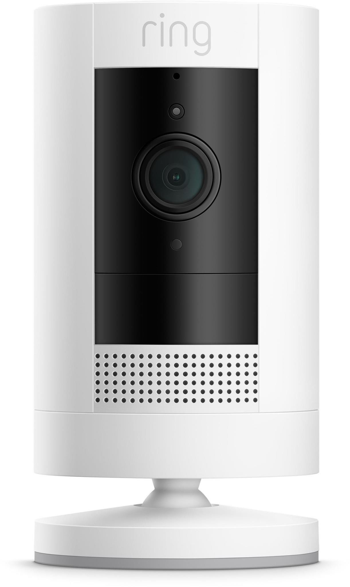 Ring Stick Up (Generation 3) Indoor / Outdoor Wire-Free Full HD Night-Vision Security Camera - White