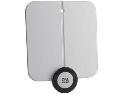 One For All Indoor Digital Aerial Ultra Flat with 4G Filter