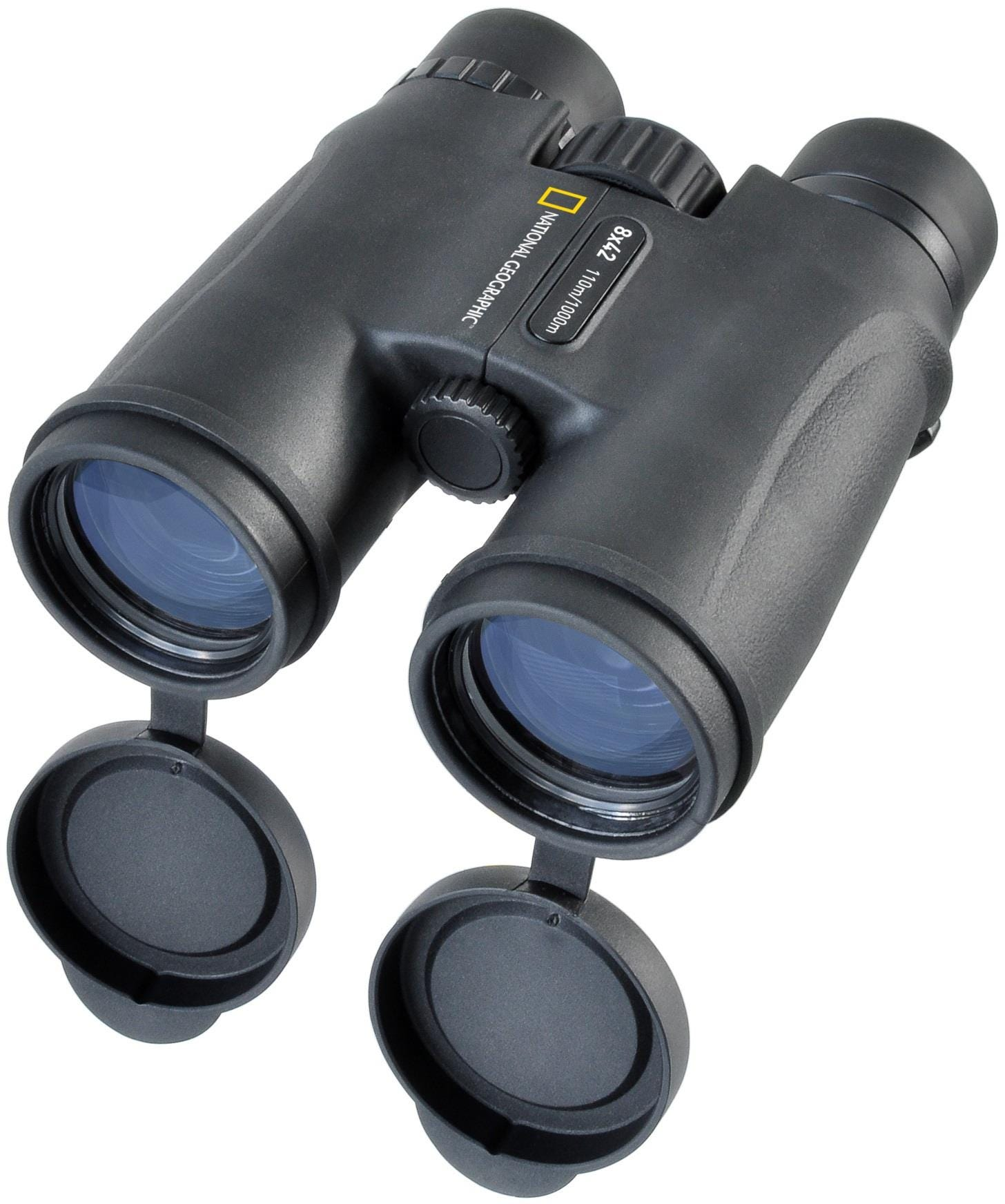 National Geographic 8 x 42 mm Binoculars with Comfort Carrying System - Black