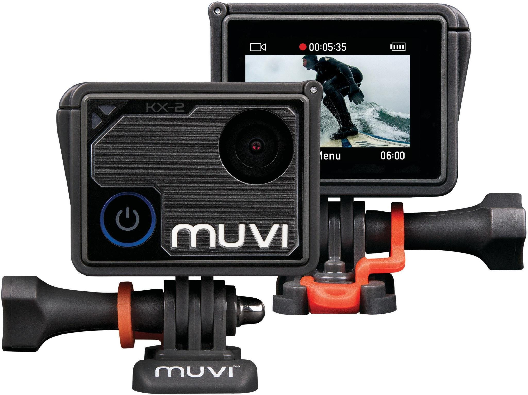 Veho Muvi KX-2 Pro Handsfree 4K at 30fps 12MP Photo Action Camera with Waterproof Housing