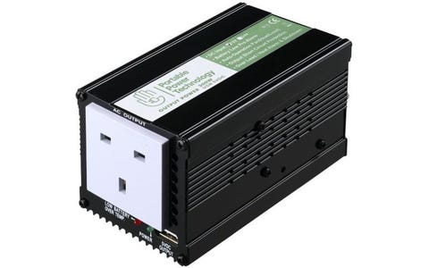 Portable Power Technology 300W 12V Power Inverter with USB