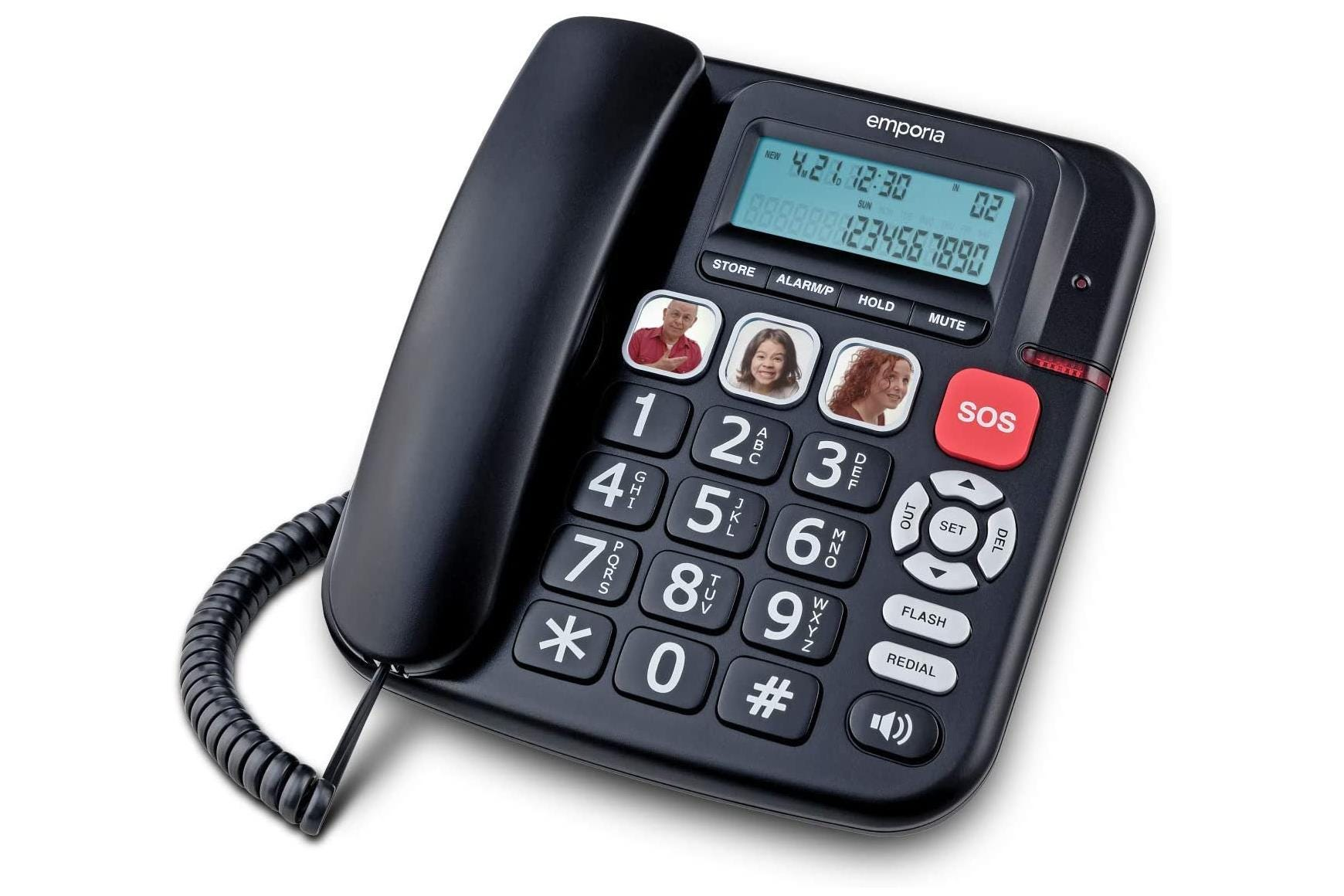 Image of Emporia KFT19 Corded Phone with SOS Button