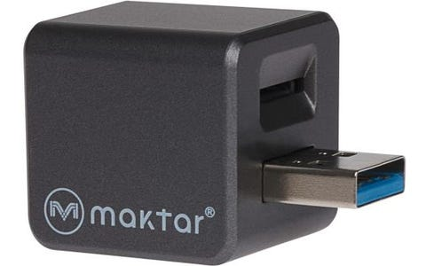 [Like New] Maktar Qubii Pro Auto Backup and Fast Charge up to 2.4A for iPhone & iPad