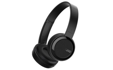 JVC HA-S40 On Ear Headphones Bluetooth - Black