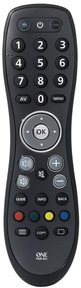 One For All Easy & Robust 2 in 1 Remote Control