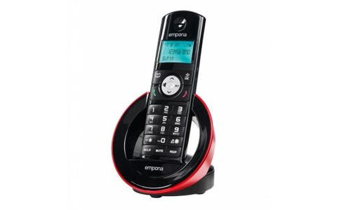 Emporia SLF19AB Cordless DECT Phone with Digital Answering Machine