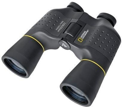 National Geographic Porro 10 x 50 mm Binoculars - Black