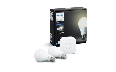 Philips Hue Smart Bulb Starter Kit (E27) *V2 - White