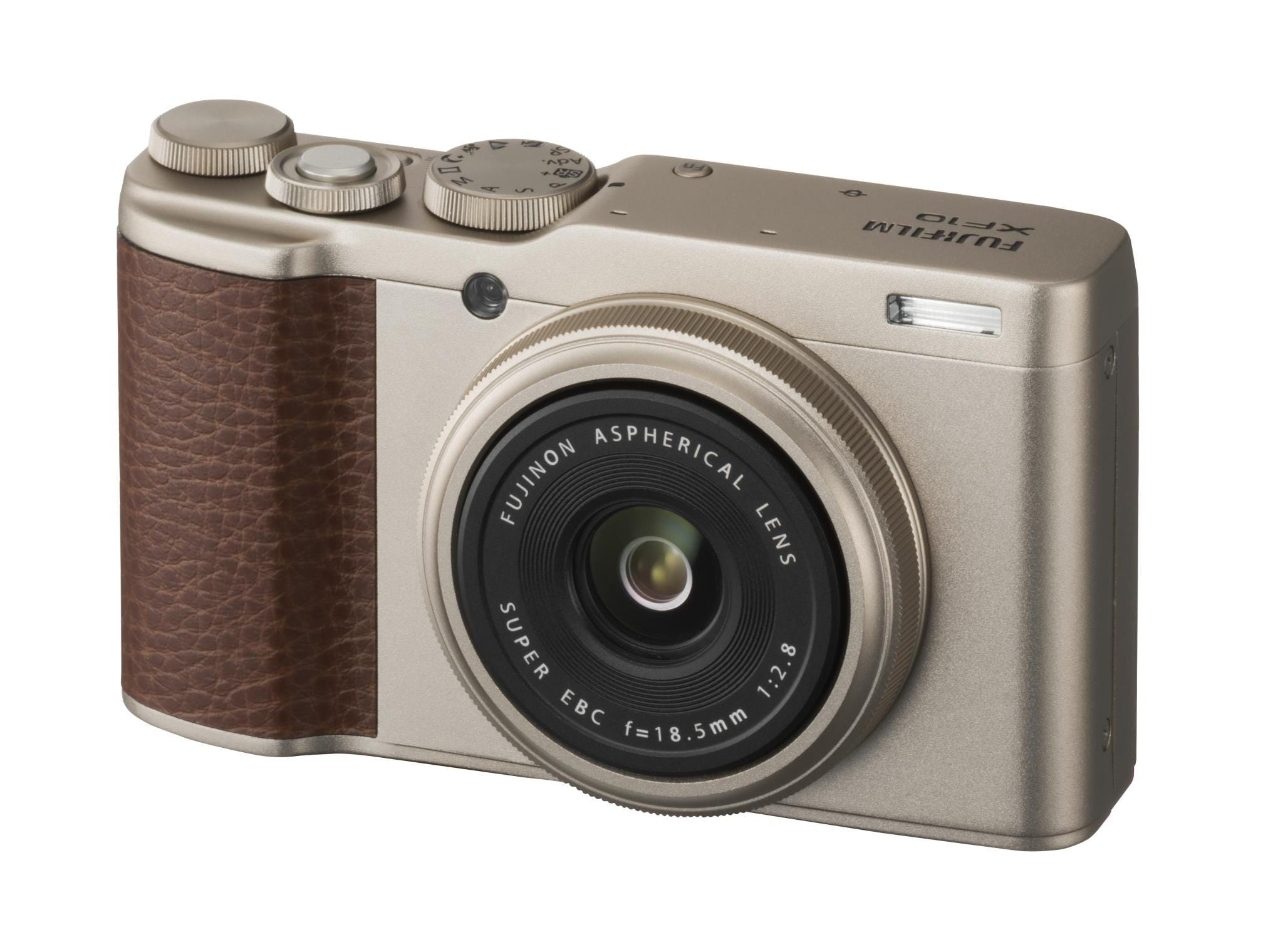 Fujifilm XF10 18.5mm F/2.8 Fixed Lens Compact Camera Champagne Gold