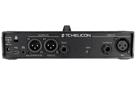 [Like New] TC.HELICON Play Acoustic Vocal FX and Guitar FX Pedal