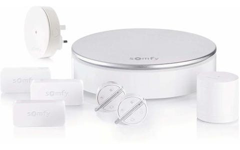Somfy Home Plug and Play Alarm with Smart Connectivity - White