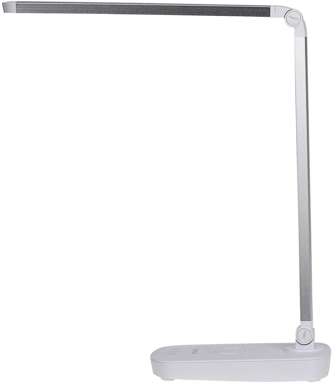 Status Toledo LED Desk Lamp With Built In QI Wireless Mobile Phone Charger Pad