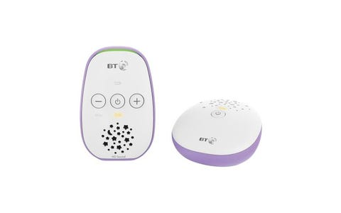 BT 400 Low Audio Baby Monitor - White