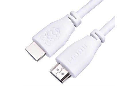 Raspberry Pi (1m) Official HDMI 2.0 Cable - White