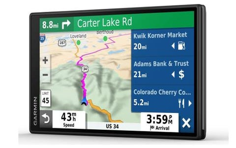 "Garmin DriveSmart™ 65 Digital Traffic 6.95"" Sat Nav Built In Digital Receiver EU"