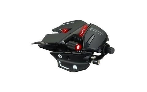 Mad Catz R.A.T. 8+ Gaming Mouse - Black