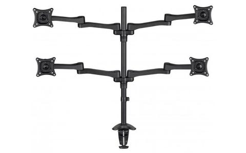 AVF 4 Screen Monitor Mount - Black