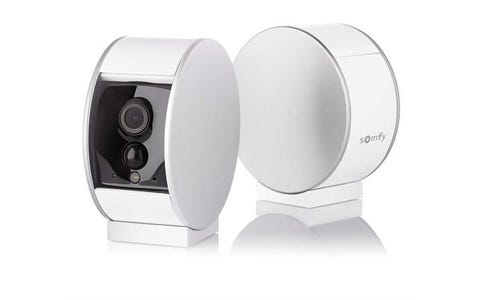 Somfy Home Indoor Wireless Full HD Night-Vision Security Camera - White