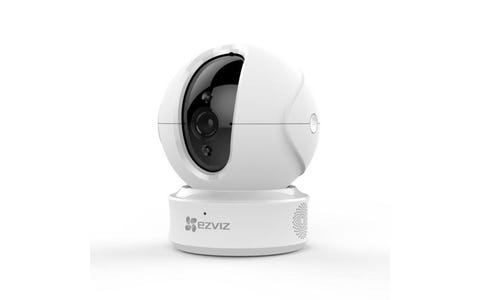 EZVIZ C6CN Pan/Tilt Motion Tracking Indoor Wireless Full HD Night-Vision Security Camera - White